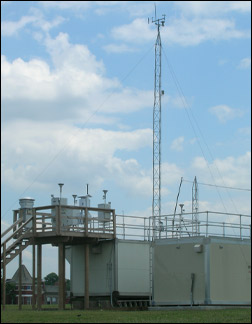 photo of air quality monitoring station