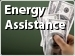 photo of hand holding cash - Energy assistance