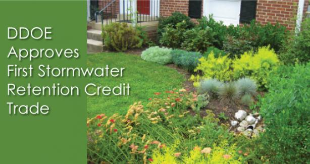 First Stormwater Retention Credit Trade